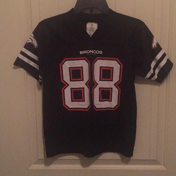 quality design 26b38 aadb7 Youth Denver Broncos Thomas number 88 jersey